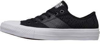 Converse Chuck Taylor All Star II Ox Trainers Black/White/Gum
