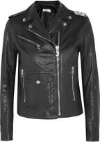 Golden Goose Deluxe Brand Chiodo Chara embellished leather biker jacket