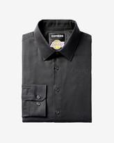 Express Slim Los Angeles Lakers Nba Jacquard Logo Dress Shirt