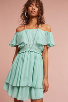 Maeve Elisa Ruffled Open-Shoulder Dress