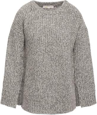 MICHAEL Michael Kors Melange Ribbed-knit Sweater