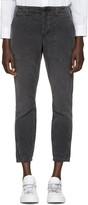 Amo Black Army Twist Trousers