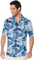 Cubavera Big & Tall All Over Hawaiian Tropical Print Shirt