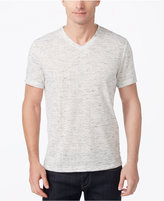 Alfani Men's V-Neck Heathered Performance T-Shirt, Created for Macy's