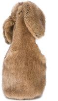 Simone Rocha Bow faux-fur shoulder bag