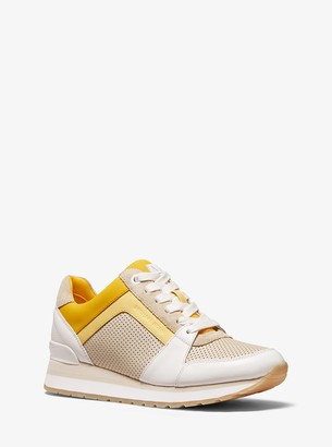 MICHAEL Michael Kors Billie Tri-Color Leather Trainer