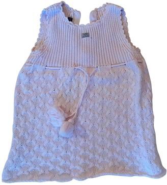 Lili Gaufrette Pink Cotton Dresses