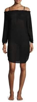 Malia Mills Blake Off-the-Shoulder Tunic