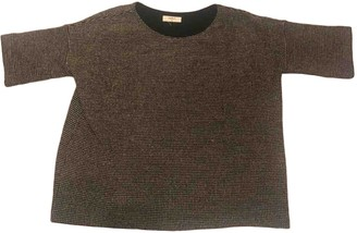 BA&SH Fall Winter 2018 Brown Cotton Knitwear for Women