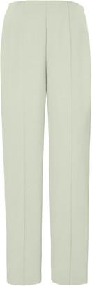 Sally LaPointe Crepe Slim-Leg Pants