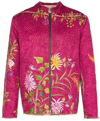 By Walid One of a Kind floral jacket