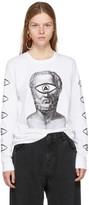 Undercover White Long Sleeve eye T-shirt