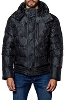 Jared Lang Alsaka Camo Down Puffer Coat