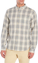 Alex Mill Royal Plaid Sport Shirt