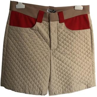 Au Jour Le Jour Beige Shorts for Women