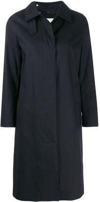 MACKINTOSH Dunkled Raintec coat