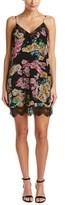 Ella Moss Floral Silk Slip Dress.