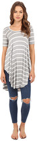 Culture Phit Ashby Short Sleeve Striped Top