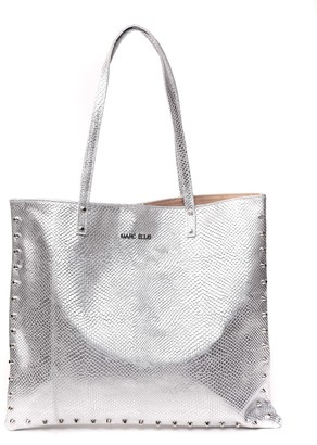 Marc Ellis Sharyl Silver Leather Bag