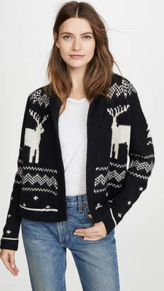 The Great The Reindeer Lodge Cardigan