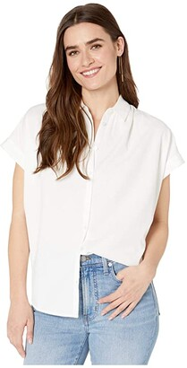 Madewell Central Shirt (Pure White) Women's Clothing