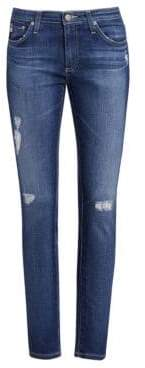 AG Jeans Distressed Legging Ankle Jeans