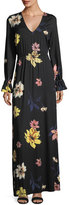 Rachel Pally Jamie Long-Sleeve Floral-Print Maxi Dress, Plus Size