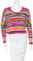 Dolce & Gabbana Printed Cropped T-Shirt