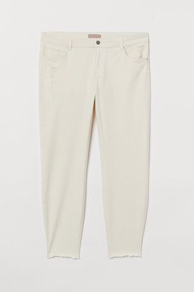 H&M H&M+ Skinny Cropped Jeans