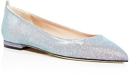 Sarah Jessica Parker Women's Story Pointed-Toe Ballet Flats