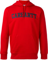 Carhartt logo print hoodie - men - Cotton - XL