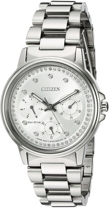 Citizen Women's Eco-Drive-Silhouette Japanese-Quartz Watch with Stainless-Steel Strap