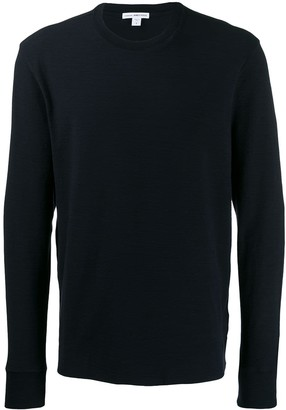 James Perse Long-Sleeve Fitted Sweater