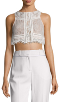 The Jetset Diaries Caribbean Lace Crop Top