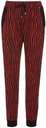 Nissa Zebra Print Joggers Pants