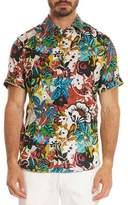 Robert Graham Havana Floral Short-Sleeve Sport Shirt