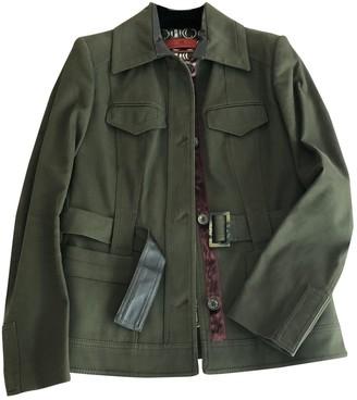 Carolina Herrera Khaki Cotton Jacket for Women