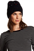 Betsey Johnson No Fuzz to Give Knit Beanie