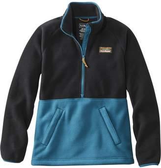 L.L. Bean L.L.Bean Mountain Classic Colourblock Fleece Pullover