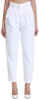 IRO Monmar Jeans In White Denim