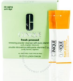 Clinique / Fresh Pressed Renewing Powder Cleanser W / Pure Vitamin C 28 Ct .5g Ea
