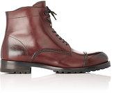 Harry's of London Men's Guy L Ankle Boots-BURGUNDY, BLACK