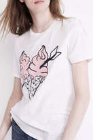Zoe Karssen Ice Cream Graphic Tee