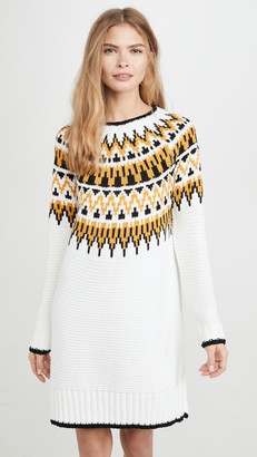 MinkPink Imogen Fairsile Sweater Dress