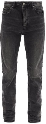 Ksubi Chitch Cotton-blend Slim-leg Jeans - Black