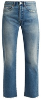 Raey Rip distressed-pocket jeans