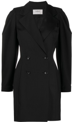 BA&SH Double-Breasted Tuxedo Dress