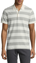Brooks Brothers Knit Wide Stripe Rugby Polo