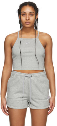 Nike Grey Sportswear Essential Tank Top