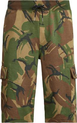 Ralph Lauren Camo Double-Knit Cargo Short